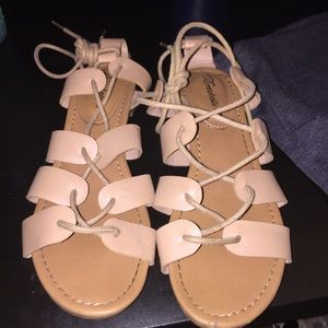 Shoes - Tie-up gladiator sandals